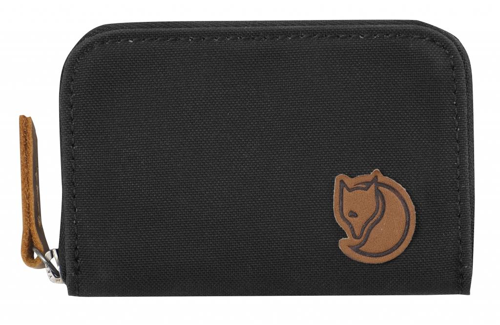 fjellreven zip card holder - dark grey