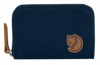 fjellreven zip card holder - navy