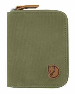 fjellreven zip wallet - green