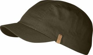 fjellreven abisko pack cap - dark olive
