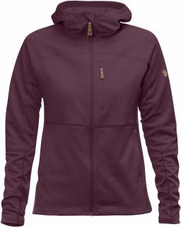 fjellreven abisko trail fleece dame - plum