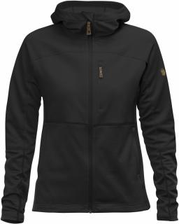 fjellreven abisko trail fleece dame - black