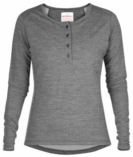 fjellreven base sweater no. 3 dame - grey