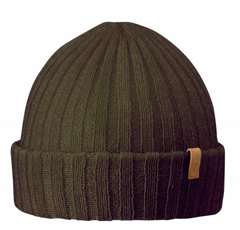 fjellreven byron hat thin - dark olive