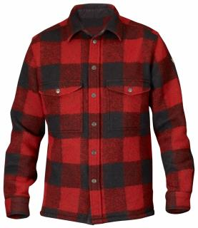 fjellreven canada skjorte - red