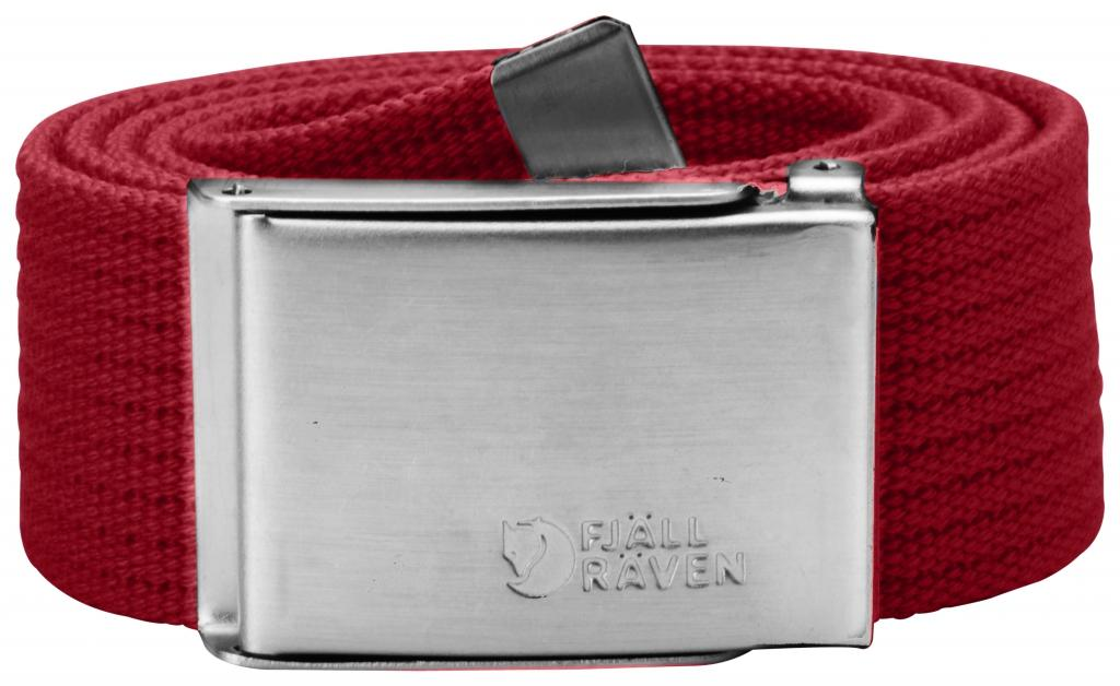 fjellreven canvas belte - deep red