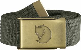 fjellreven canvas brass belt 3 cm. - mountain grey