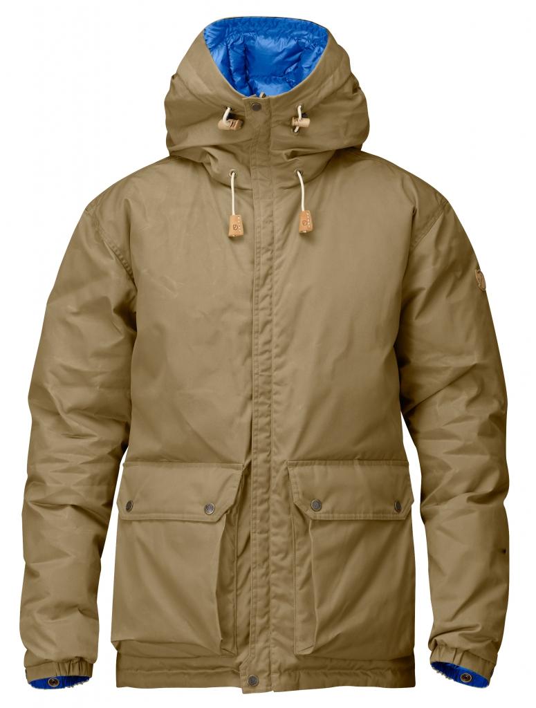 fjellreven down jacket no. 16 - sand