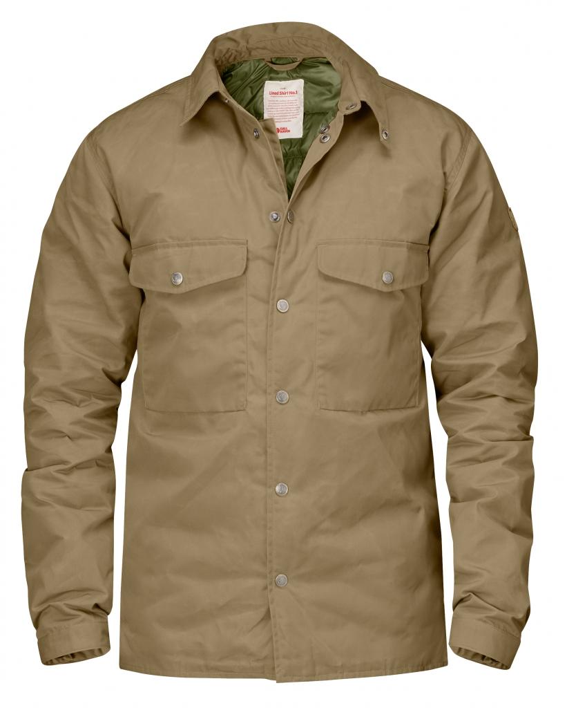 fjellreven down shirt no.1 - sand
