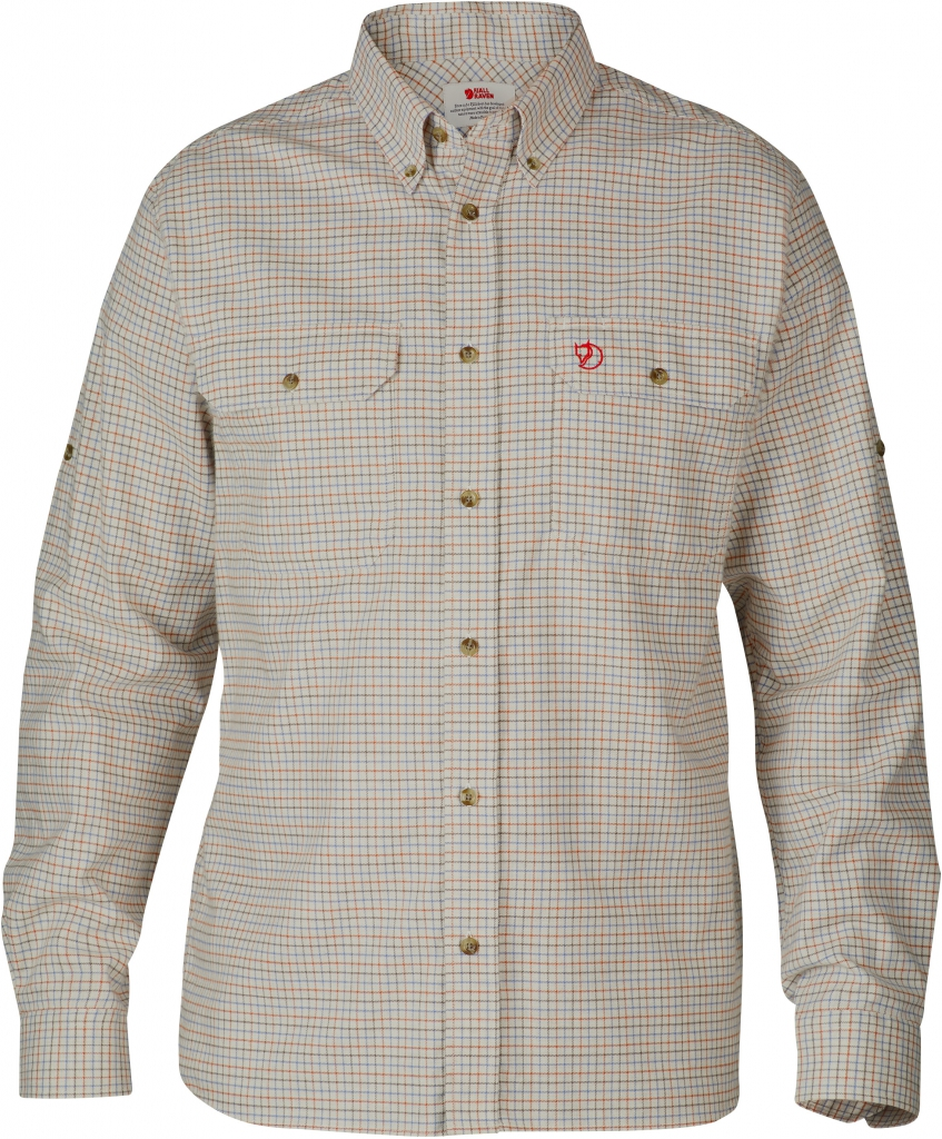 fjellreven forest flannel shirt - autumn leaf
