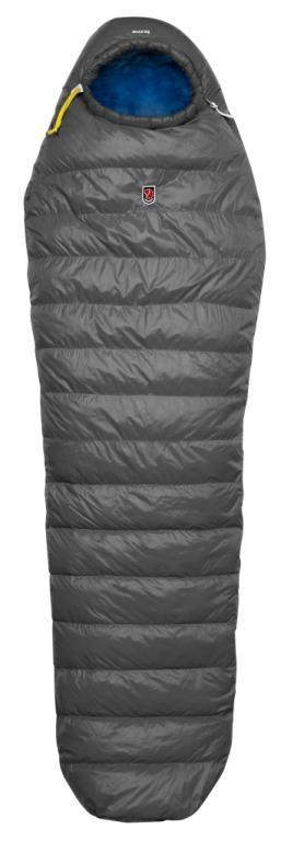 fjellreven move in bag long sovepose - dark grey