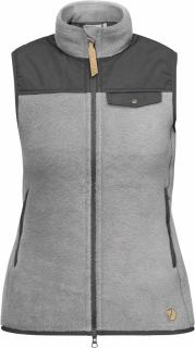 fjellreven singi fleece vest dame - grey