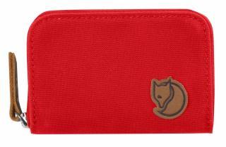 fjellreven zip card holder - red