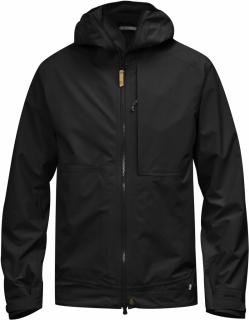fjellreven abisko eco-shell jakke - black