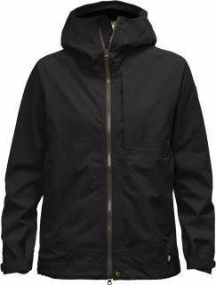 fjellreven abisko eco-shell jakke dame - black