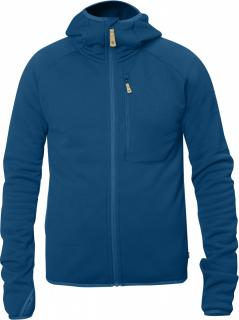 fjellreven abisko fleece hoodie - lake blue