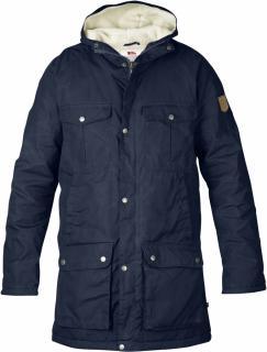 fjellreven greenland winter parka - dark navy