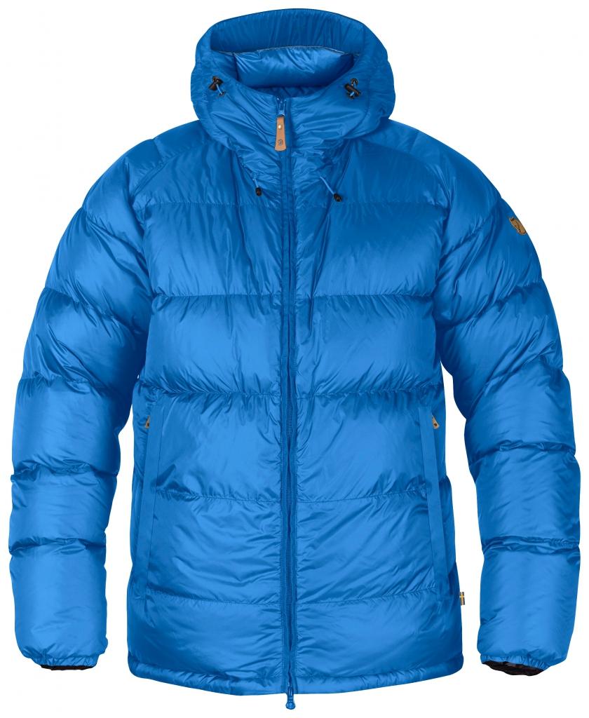 fjellreven keb down jacket - un blue