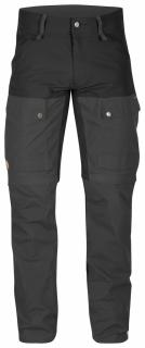 fjellreven keb gaiter trouser long - black