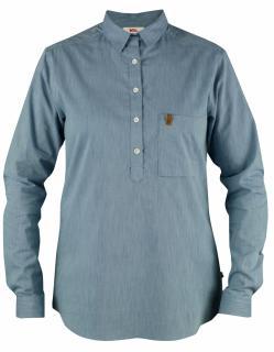 fjellreven kiruna shirt ls dame - un blue