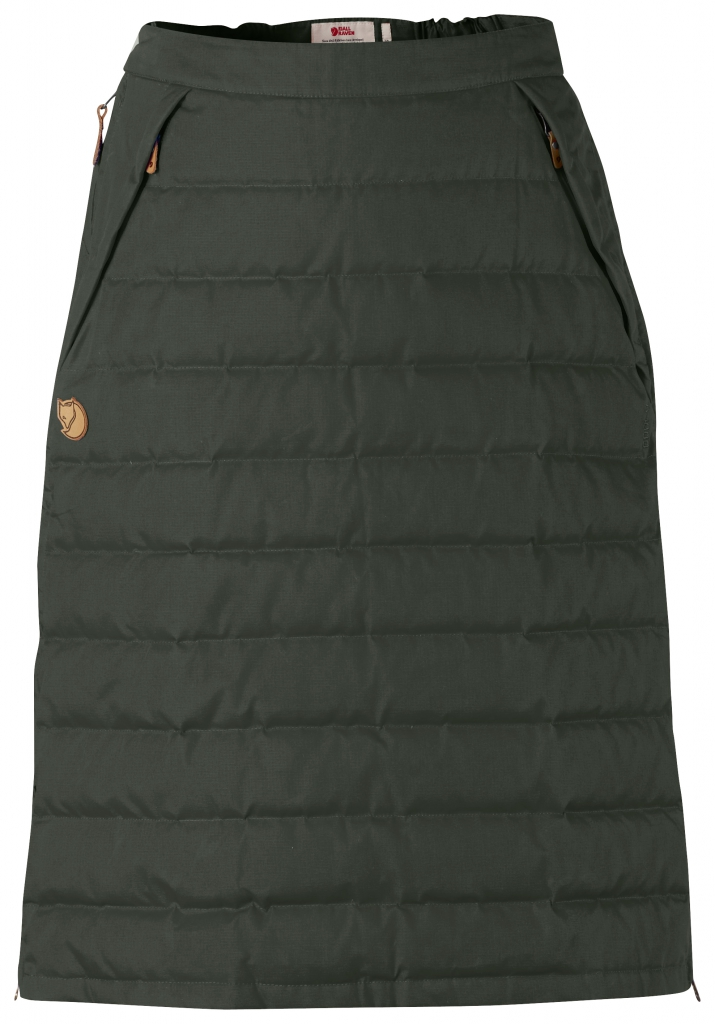 fjellreven Övik down skirt - mountain grey