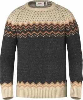 fjellreven Övik knit sweater - dark grey