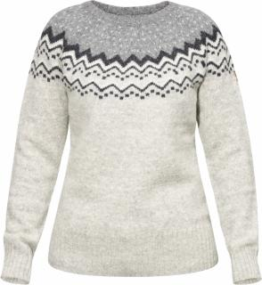 fjellreven Övik knit sweater women - grey