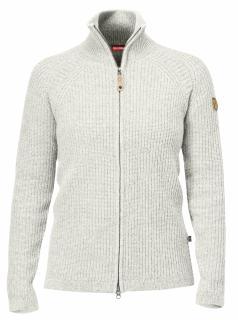 fjellreven Övik wool cardigan - ecru