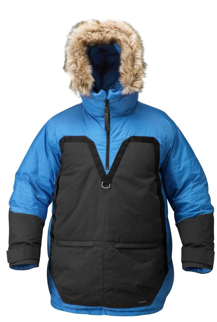 fjellreven polar parka - ice blue