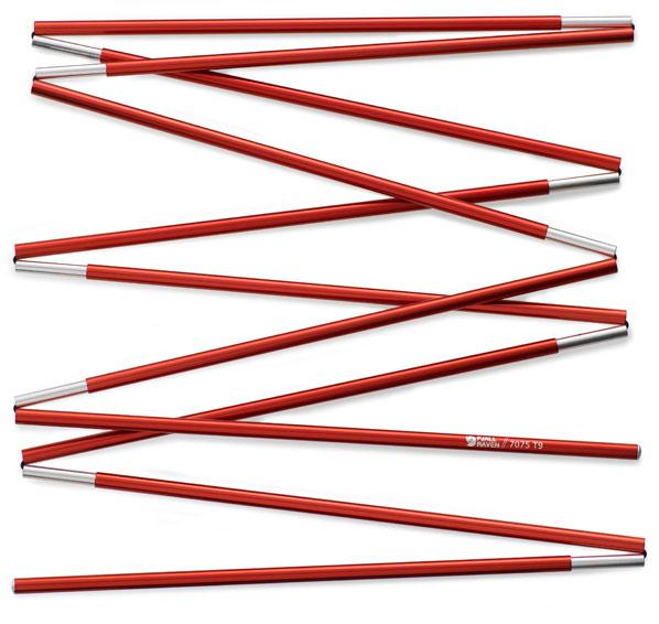 fjellreven pole akka shape r/s 3 long teltstang