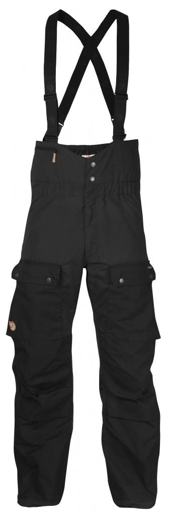 fjellreven singi bib trousers - dark grey