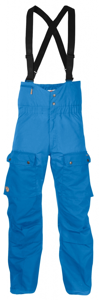 fjellreven singi bib trousers - un-blue