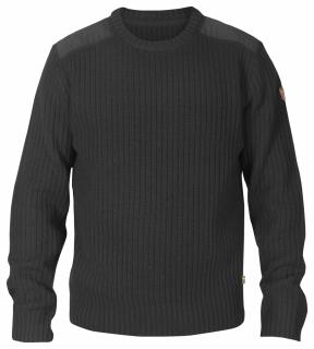fjellreven singi knit sweater - dark grey