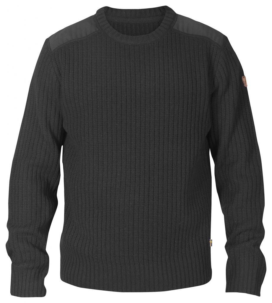 fjellreven singi knit sweater - dark grey