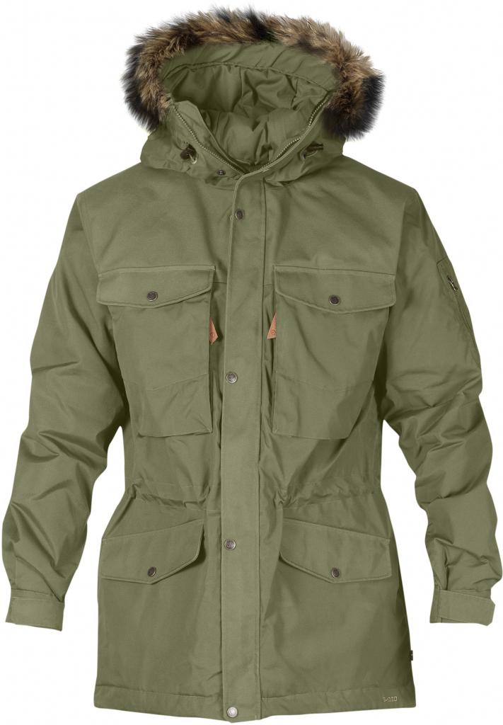 fjellreven singi winter jacket - green