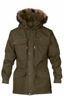 fjellreven singi winter jacket - dark olive