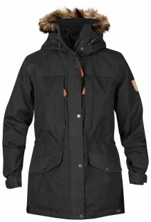 fjellreven singi winter jacket women - dark grey