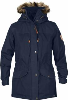 fjellreven singi winter jacket women - dark navy