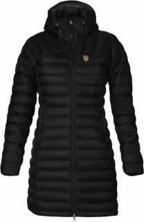 fjellreven snow flake parka - black