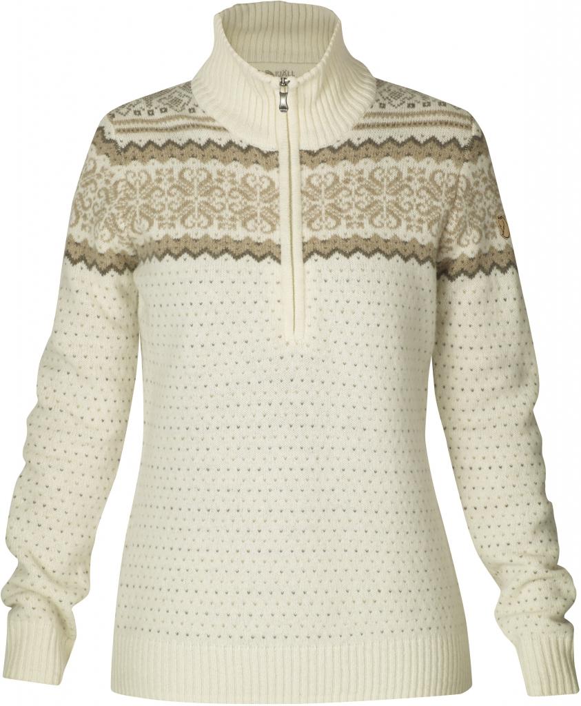 fjellreven vika sweater - ecru