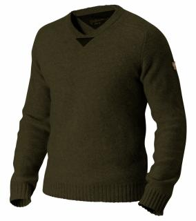 fjellreven woods sweater - dark olive