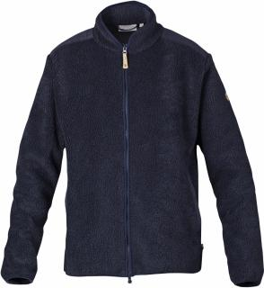 fjellreven zip sweater - dark navy