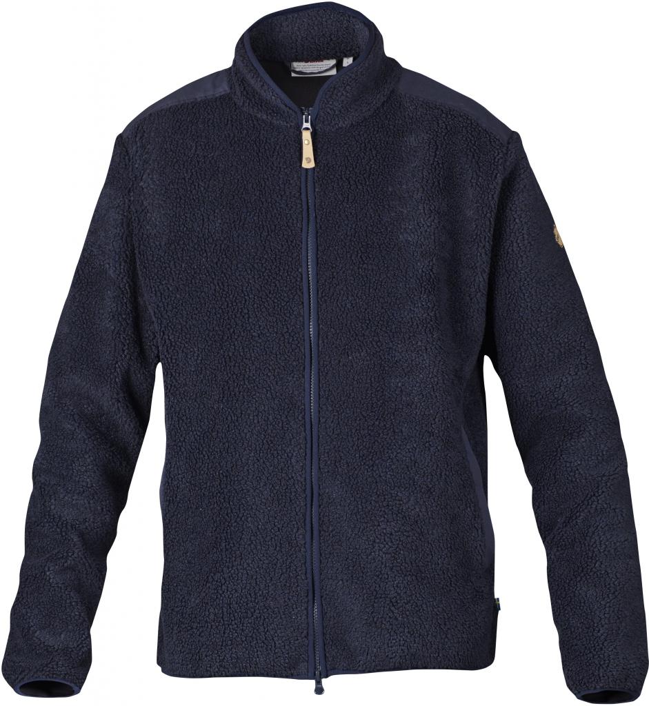 fjellreven zip sweater - dark navy