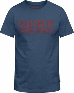 fjellreven equipment block t-shirt - uncle blue