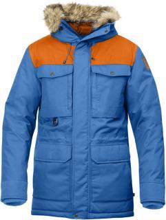 fjellreven polar guide parka - un blue - burnt orange