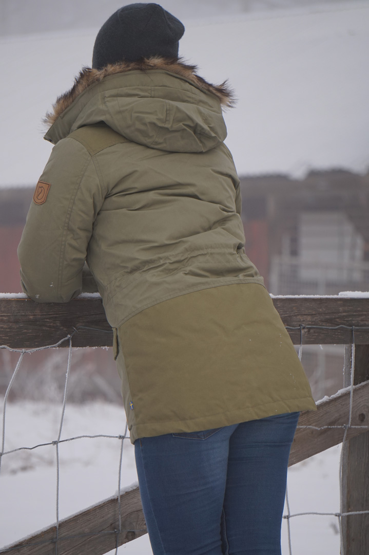 Fjellreven Singi Down Jakke Dame, str M | FINN.no