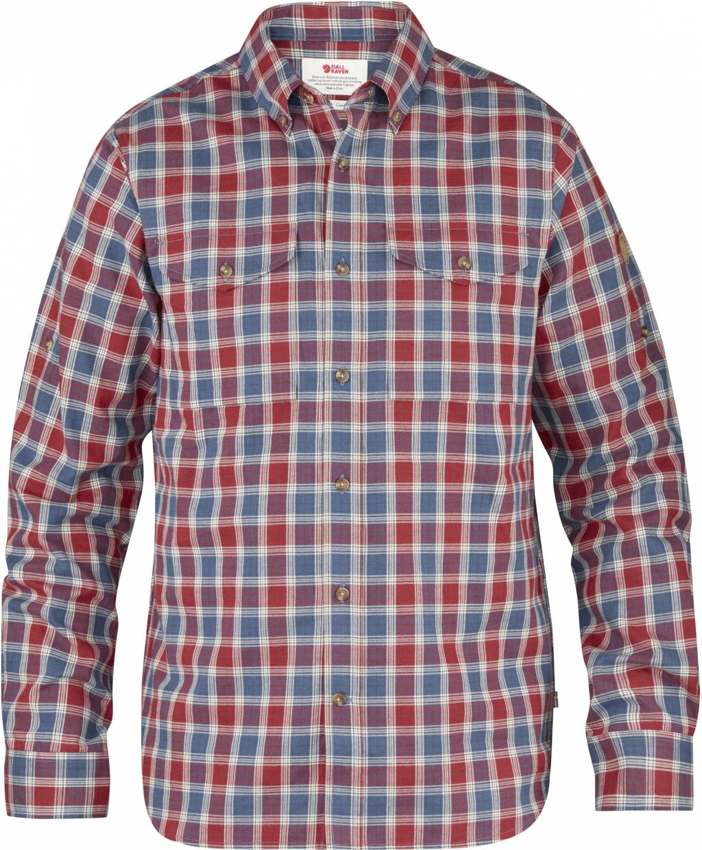 fjellreven singi shirt ls - deep red