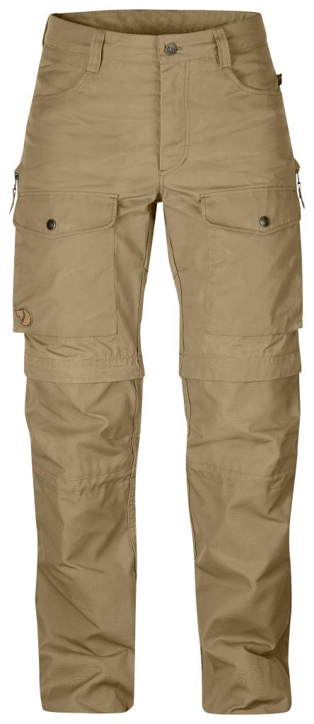 fjellreven gaiter trouser no. 1 dame - sand