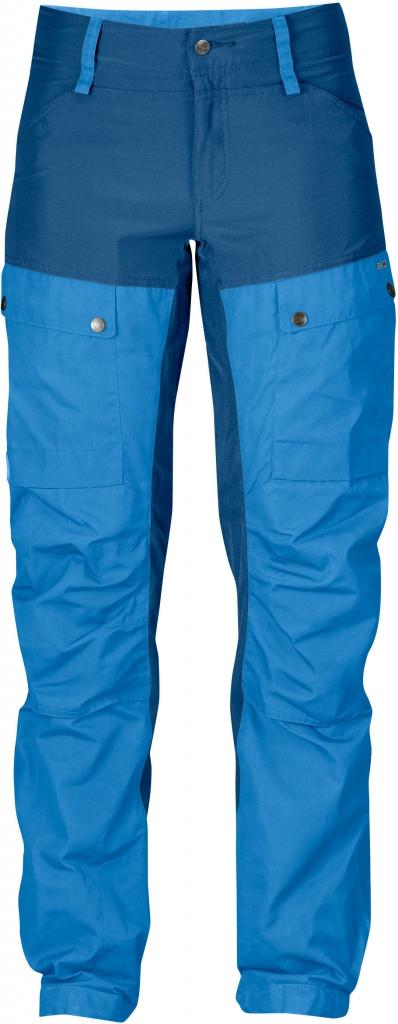 fjellreven keb bukse short dame - un blue