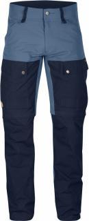 fjellreven keb gaiter trousers regular - dark navy
